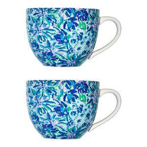 Lily Pulitzer Ceramic Mugs